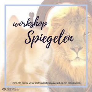 workshop 'Spiegelen' @ StilleWateren | Amersfoort | Utrecht | Nederland