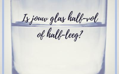 Halfvol of halfleeg?