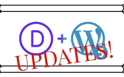 Updates!